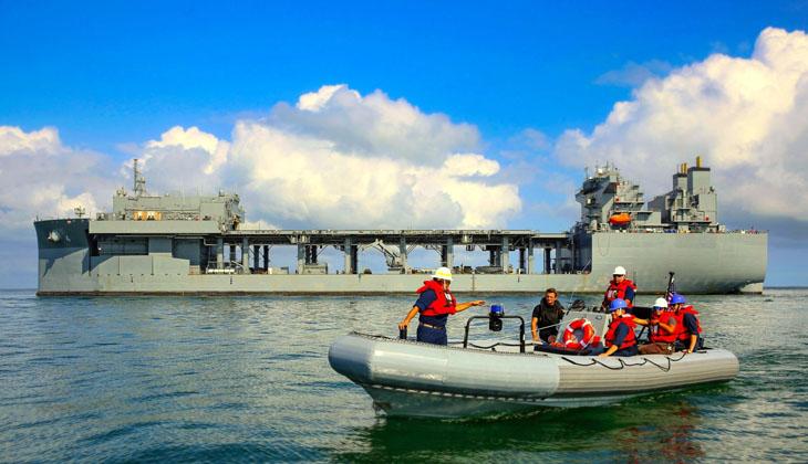 USS HERSHEL 'WOODY' WİLLİAMS, KALICI OLARAK GİNE KÖRFEZİ'NDE GÖREV YAPACAK