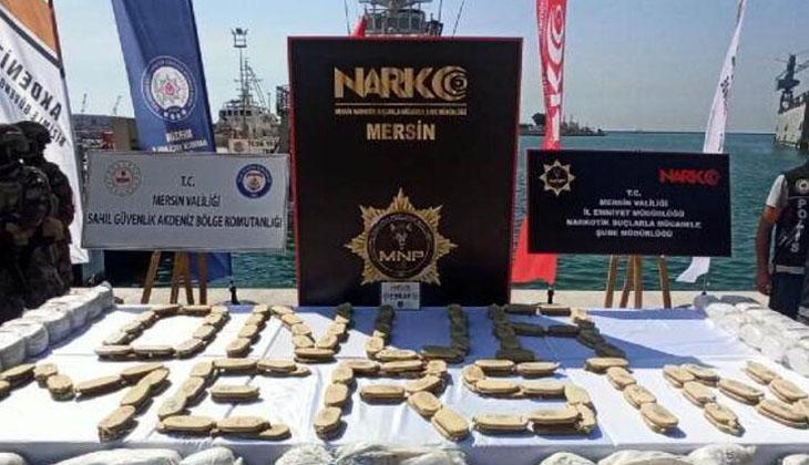 Yakalanmamak için 1,5 ton uyuşturucuyu denize atmışlar