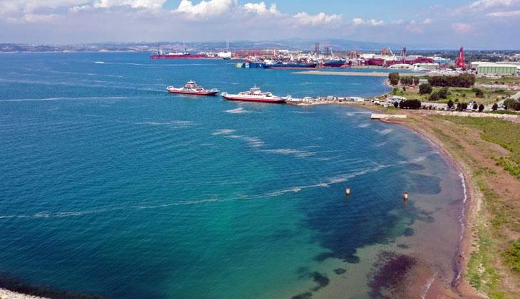 """Yalova'da """"Marmara Denizi Koruma Eylem Planı"""" kapsamında müsilaj çalışmaları sürüyor"""