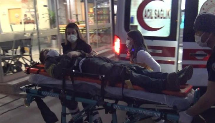Zonguldak'ta tersanede yüksekten düşen işçi yaralandı