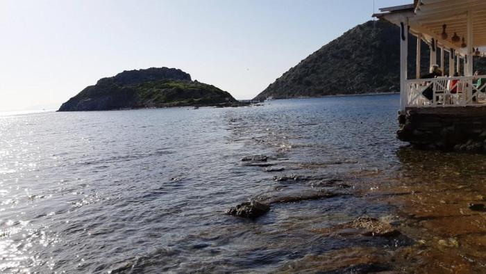 Sular çekilince binlerce yıllık kral yolu ortaya çıktı