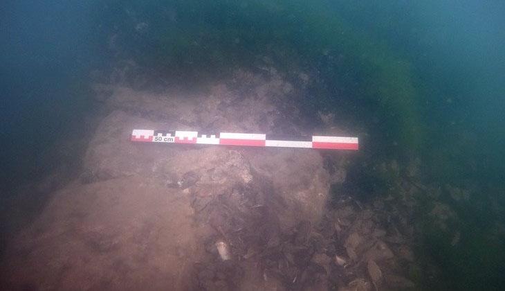 Marmara denizinde depremin izleri