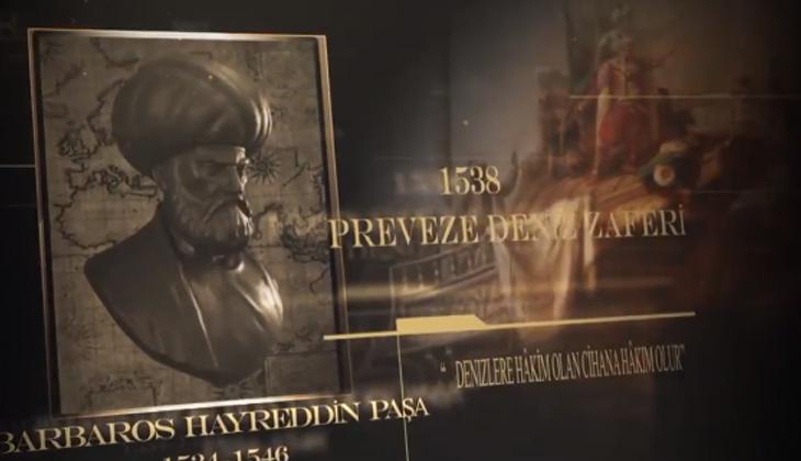 MSB'DEN PREVEZE DENİZ ZAFERİ'NİN 483'ÜNCÜ YIL DÖNÜMÜ İÇİN ÖZEL KLİP