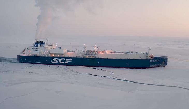 Rusya, Kuzey Deniz Yolu'nda kış ortasında ilk kez ticari sefer gerçekleştirdi