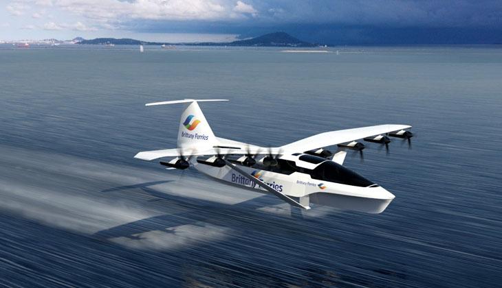 Sıfır emisyonlu deniz uçağı geliştiriliyor! Yolculuk süresi altı kat azalacak…