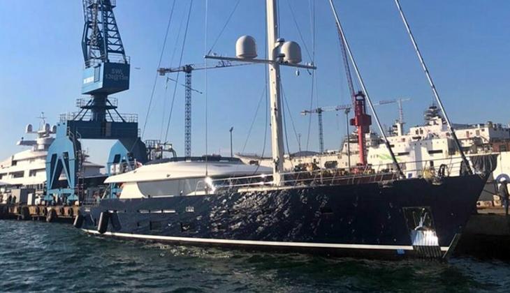 Tasarım harikası L'Aquila II denizle buluştu...